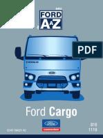 Manual do proprietario Ford Cargo 816s 2016
