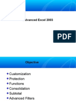 Advanced Excel 2003[1]