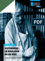 Estudio Sosteniendo la ruralidad en Los Ríos Quiénes cómo y por qué Los Ríos