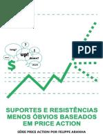 SUPORTES E RESISTÊNCIAS MENOS ÓBVIOS BASEADOS EM PRICE ACTION