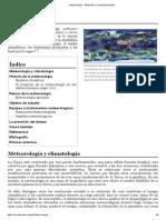 Meteorología - Wikipedia, la enciclopedia libre