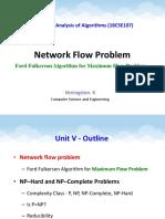 5. Ford-Fulkerson Algorithm - Network flow problem