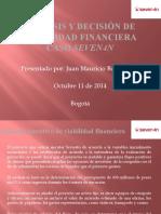 ANALISIS Y DECISIÓN DE VIABILIDAD FINANCIERA - Juan Mauricio Borbón