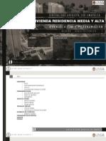 VIVIENDA RESIDENCIA MEDIA Y ALTA  NORMATIVIDAD-Y-PROGRAMACION
