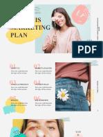 Memphis Marketing Plan by Slidesgo