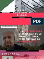 BILBAO Museo Guggenheim ANALISIS
