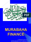 Murabaha Finance by Muhammad Tayyab Raza