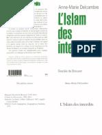 L'islam Des Interdits -Anne-Marie Delcambre