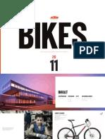 KTM 2011 Urban Bikes