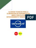 ALCANCES TECNICOS-LEVANTAMIENTO INDECI-PLAYAS ESTAC_2020
