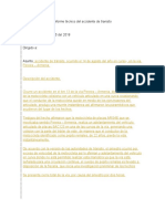 INFORME DE ACCIDENTE DE TRANSITO