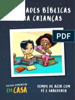Caderno de Atividades para Crianças evangélico