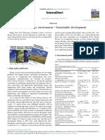 Green energy environmentdSustainable development