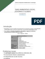 Aula_2.3_Problemas locais, regionais e globais do meio ambiente;