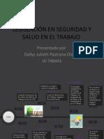 HISTORIA DE LA SEGURIDAD Y SALUD EN EL TRABAJO