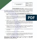 PC-HSEQ-04. POLITICA DE TRANSPARENCIA Y ANTICORRUPCION V.2