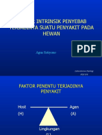 Faktor Intrinsik Penyebab Penyakit