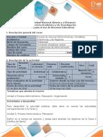 Guía para el uso de recursos educativos - Diagrama de Gantt - Elaboración de un organigrama