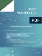 Tech Newsletter Blue variant.pptx