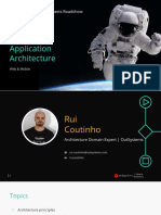 Outysystems Architecture 101 + Libraries