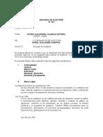 MEMORANDO DE ENCARGO-auditoria 1 2014A
