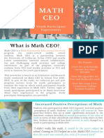 math ceo youth benefits newsletter