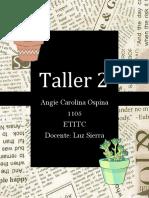 TALLER 2 (musica)