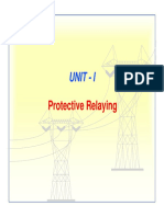 Unit-1-Protective Relaying  OC and Earth Fault Protection