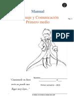 Manual primero medio primer semestre 2015