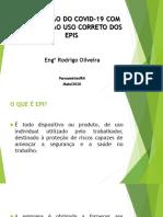 Palestra COVID-19 AO USO DOS EPIS