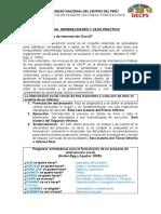 FORMATOS DE PROYECTO E INFORMES DE PROYECCION SOCIAL 2020-I