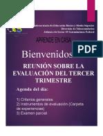 CRITERIOS DE EVALUACIÓN 3ER TRIMESTRE