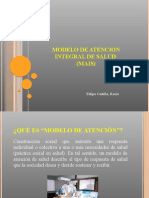Modelo de Atencion Integral de Salud (Mais)