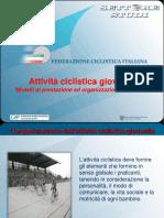 Attività ciclistica giovanile 1_modelli di prestazione e organizzazione