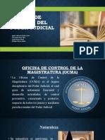 ORGANO DE CONTROL DEL PODER JUDICIAL