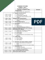 Scheme of Work Form 5 (2011)-Frame