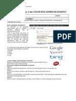 guia USO DE BUSCADORES DE INTERNET