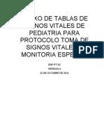 ANEXO DE TABLAS DE SIGNOS VITALES DE PEDIATRIA PARA PROTOCOLO TOMA DE SIGNOS VITALES Y MONITORIA ESPECIAL.docx