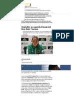 María Pry no seguirá al frente del Real Betis Féminas