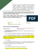 Lei 11909_2009 - Bombeiro Profissional Civil.