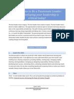 101 Reasons Leadership Secrets