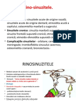 RINOSINUZITE CURS 3