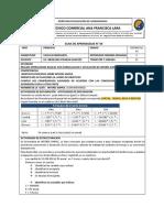 CALCULO MERCANTIL  DECIMO SEMANA 11 SEDE PRINCIPAL