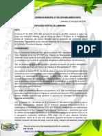 ACTA DE ACUERDO MUNICIPAL
