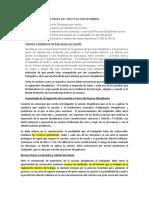 ETAPAS DEL PROCESO DISCIPLINARIO