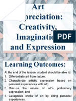 GEC 4 Lesson 02 - Creativity, Imagination, and Expression
