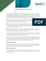 Acciones basicas de ComunicacionCORR