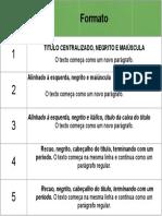 Níveis de títulos - APA 7ª Edição