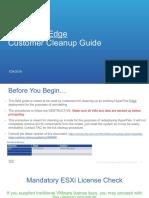 HyperFlex Edge Customer Cleanup Guide-v1