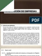 II Unidad Organización Empresarial
